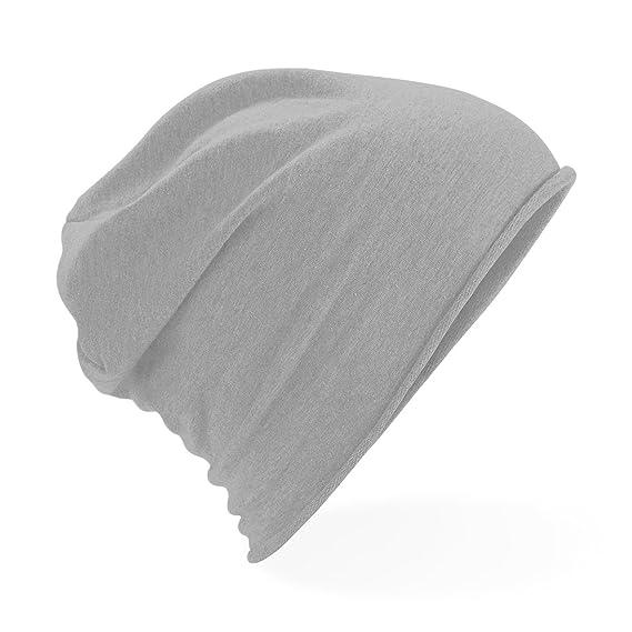 70abd61e165693 Beechfield Unisex Plain Jersey Beanie Hat (One size) (Black): Amazon.co.uk:  Clothing