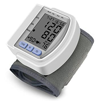 Tensiómetro De Muñeca,Gran Pantalla LCD Con 60 Capacidad De Memoria: Amazon.es: Hogar