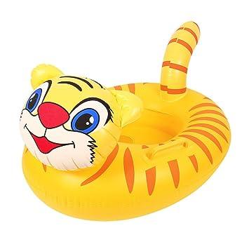 Artistic9 silla hinchable para bebé, con flotador de animales, anillo de natación hinchable para