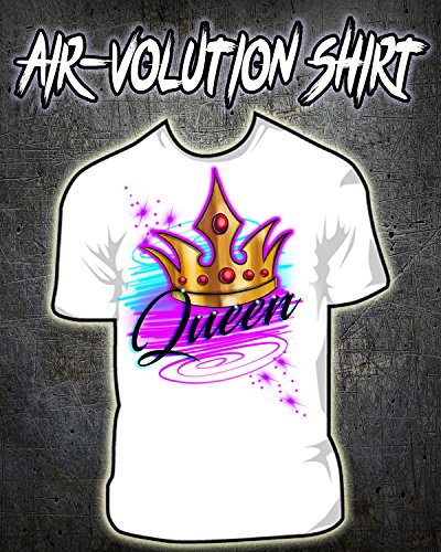 Personalized Airbrushed Crown Shirt ()