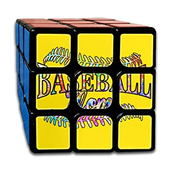 Amazon.com: Baseball Mom Smooth Speed Magic Puzzles Cube ...