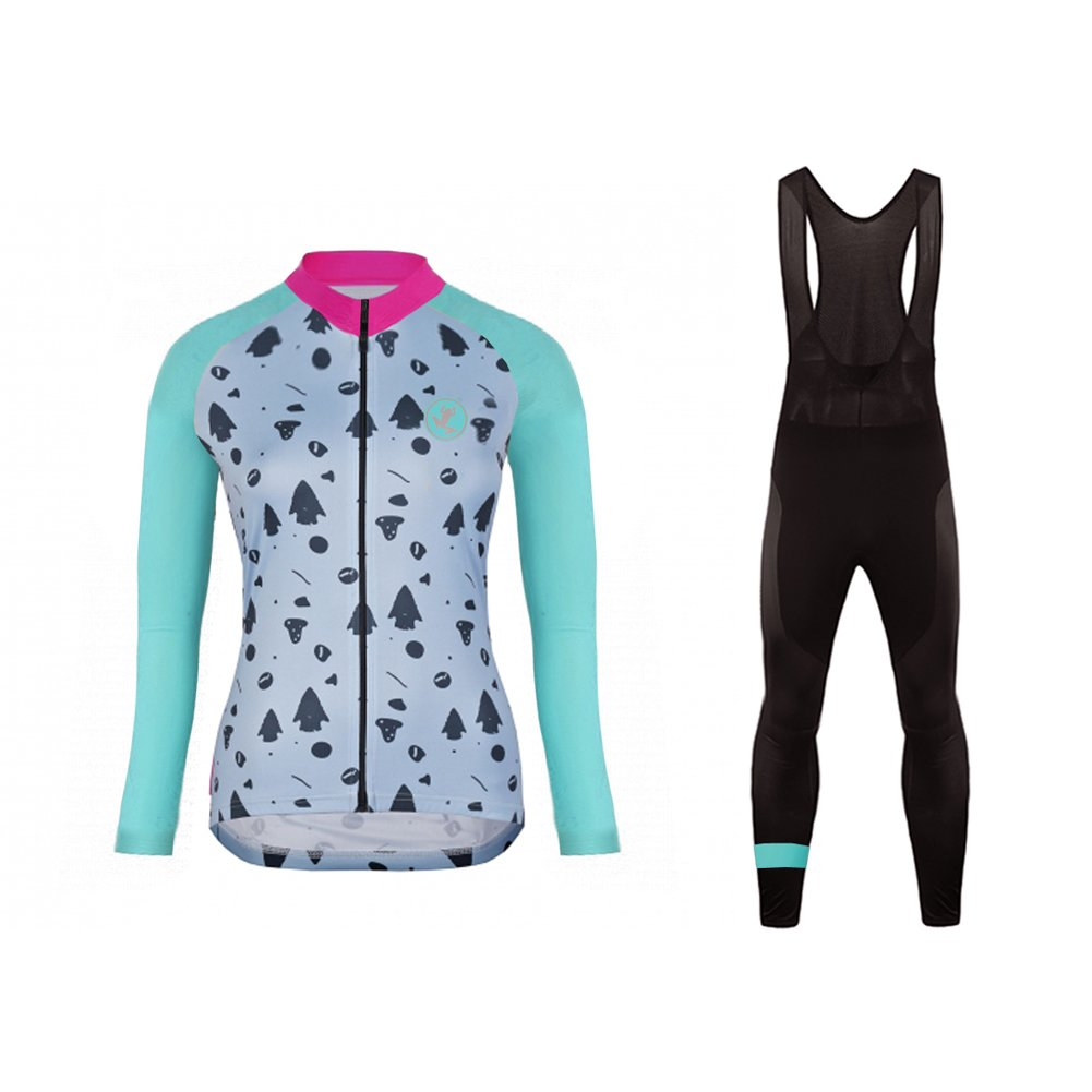 ... Uglyfrog Women Classic Cycling Jersey Winter Thermal Bike Top + Bib  Tights Set ... b6ccfd495