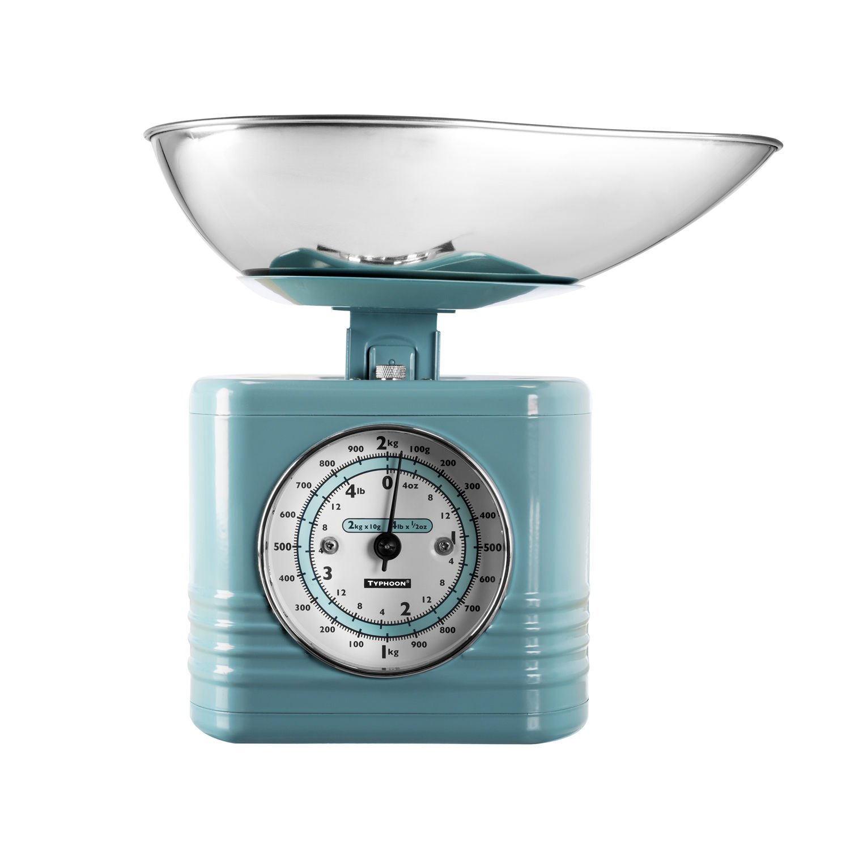 Typhoon Vintage Kitchen Scales Blue: Amazon.co.uk: Kitchen & Home