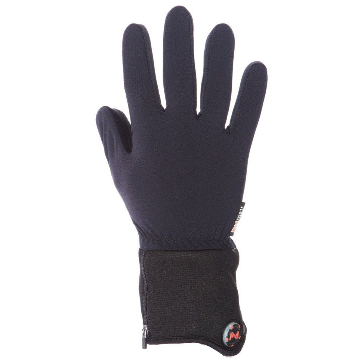 Mobile Warming Unisex-Adult Heated 7.4v Gloves Liner (Black, X-Small)