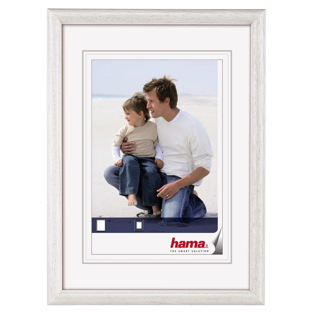 blanc 13 x 18 cm Hama Cadre photo en bois Oregon