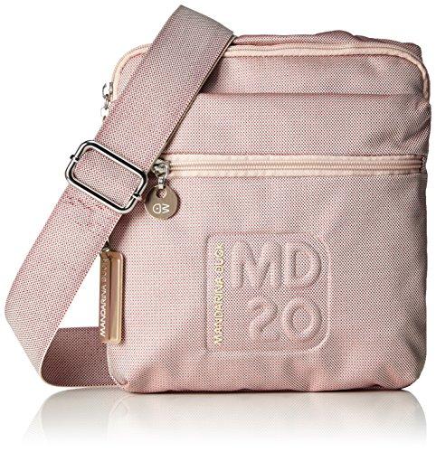 Mandarina Duck Md20 Minuteria - Bolso de hombro Mujer Pink (Misty Rose)