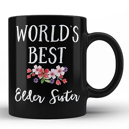 Worlds Best Elder Sister Mug