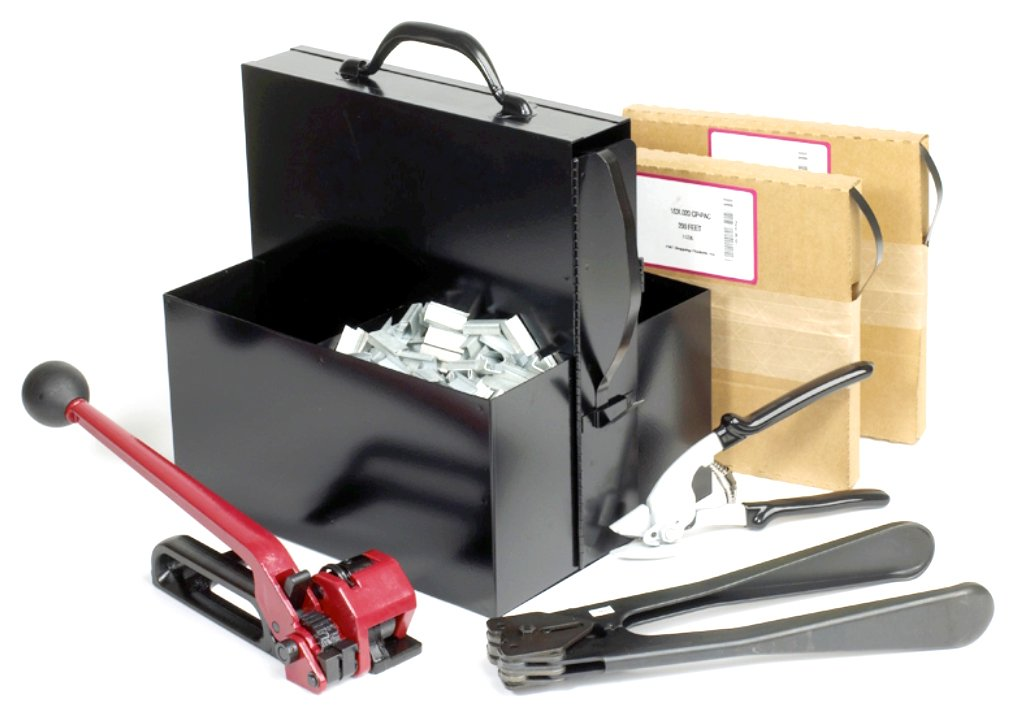 PAC Strapping SK58 5/8'' Steel Strapping Kit by PAC Strapping Products