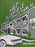 1987 Oldsmobile Toronado & Trofeo Repair Shop Manual Original