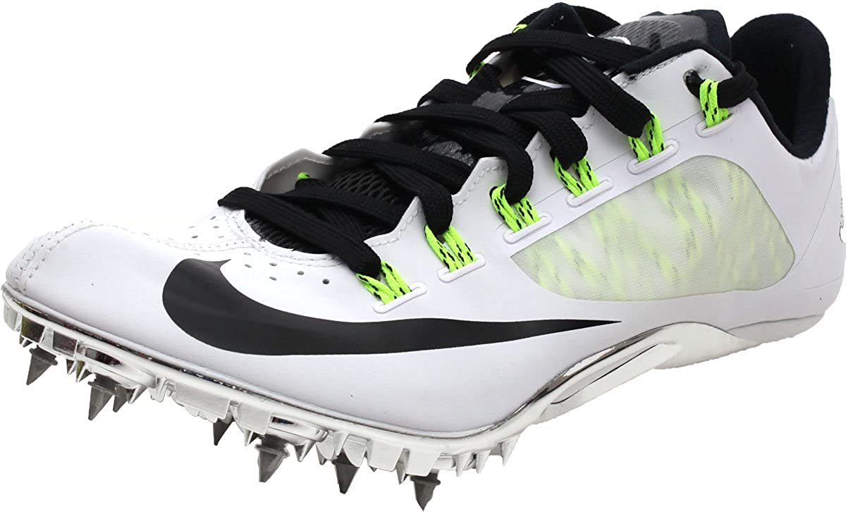 new styles da2a2 49a63 Amazon.com   Nike Men s Zoom Superfly R4 Track Shoes White US 11   Track    Field   Cross Country