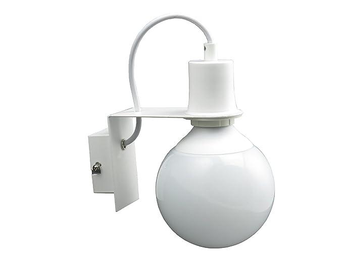 Lampada parete applique design moderno bianco minimal art industrial