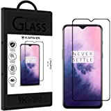 KAPAVER® 3D Full Cover Edge to Edge Full Glue Tempered Glass Screen Guard Protector for OnePlus 7/1+7