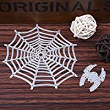 JD Million shop 2pcs/Set Halloween Metal Cutting Dies Stencil for Scrapbooking Spider&Net Diy Craft Stencils And Embossing for Paper Craft Dies
