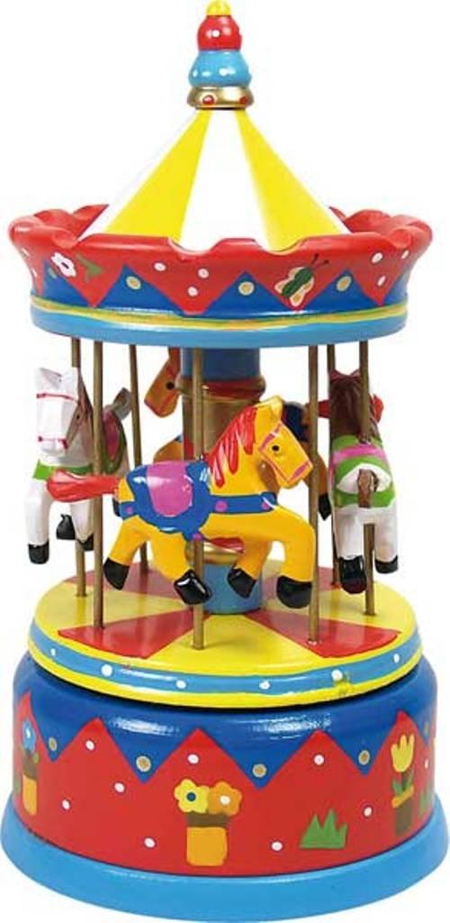 Ulysse - 1097 - Jouet Premier Age - Carrousel Rouge