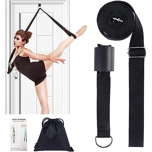 Details about  /Leg Stretcher Door Flexibility Stretching Leg Strap Great for Ballet Cheer USA ☋