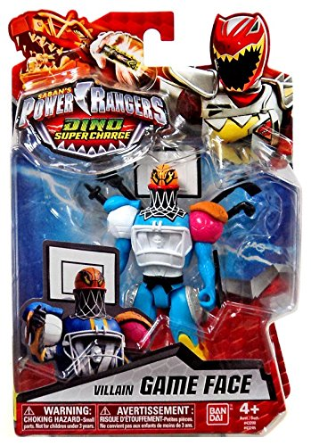 "Power Rangers Dino Super Charge - 5"" Villain Game Face Action Figure"