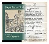 Badenheim 1939, Aharon Appelfeld, 0879233427