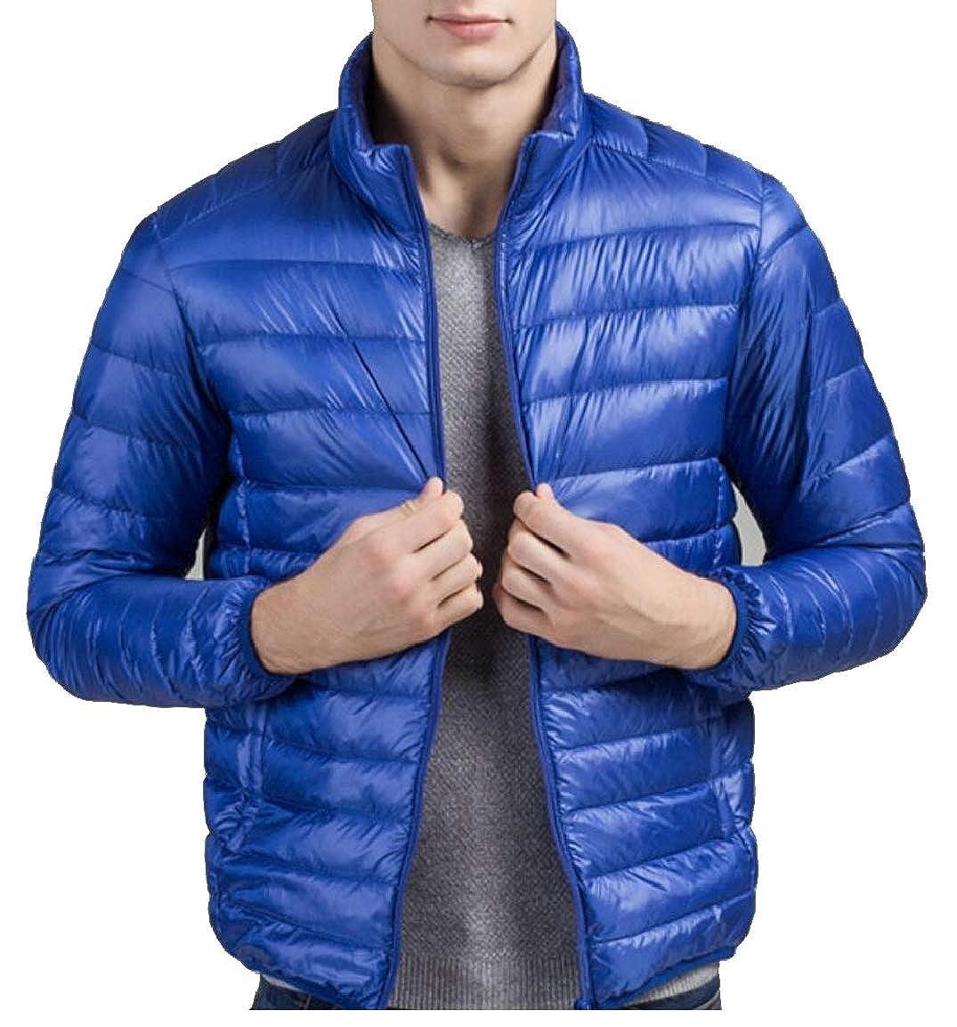 mydeshop Mens Packable Down Jacket Jacket