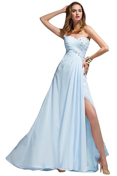 Accesorios para un vestido azul celeste