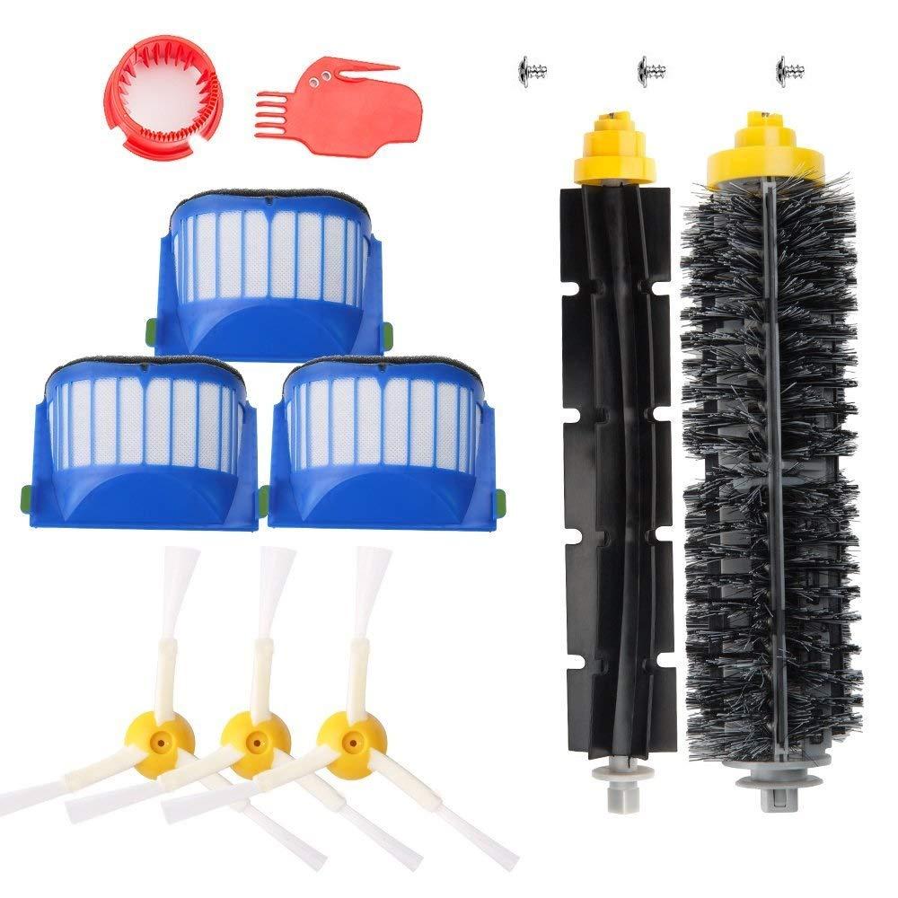 MaxDirect Pack Kit Cepillos y Repuestos de Accesorios para Aspiradoras iRobot Roomba Serie 600 - Kit de 13PCS: Amazon.es: Hogar
