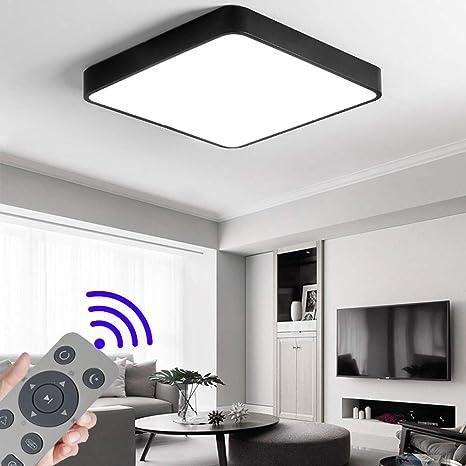 36W Platz LED Dimmbar Deckenleuchte Deckenlampe Wohnzimmer Lampe  Schlafzimmer Küche Panel Leuchte Energie Sparen Licht minimalistischer Stil  ...