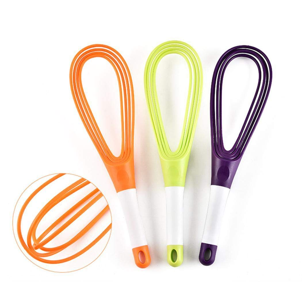 Multi-functional Rotatable Egg Whisk Hand Mixer Beater Kitchen Cooking Tool Whisks