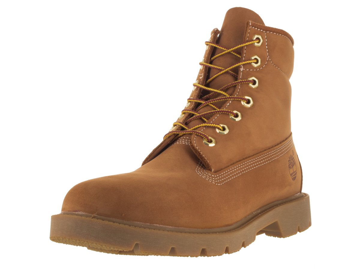 Timberland Men's Six-Inch Basic Boot,Wheat Nubuck,11 M US by Timberland (Image #2)