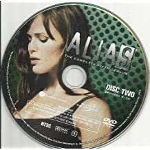 Alias Season 5 Disc 2 Episodes 6-10 Replacement Disc!
