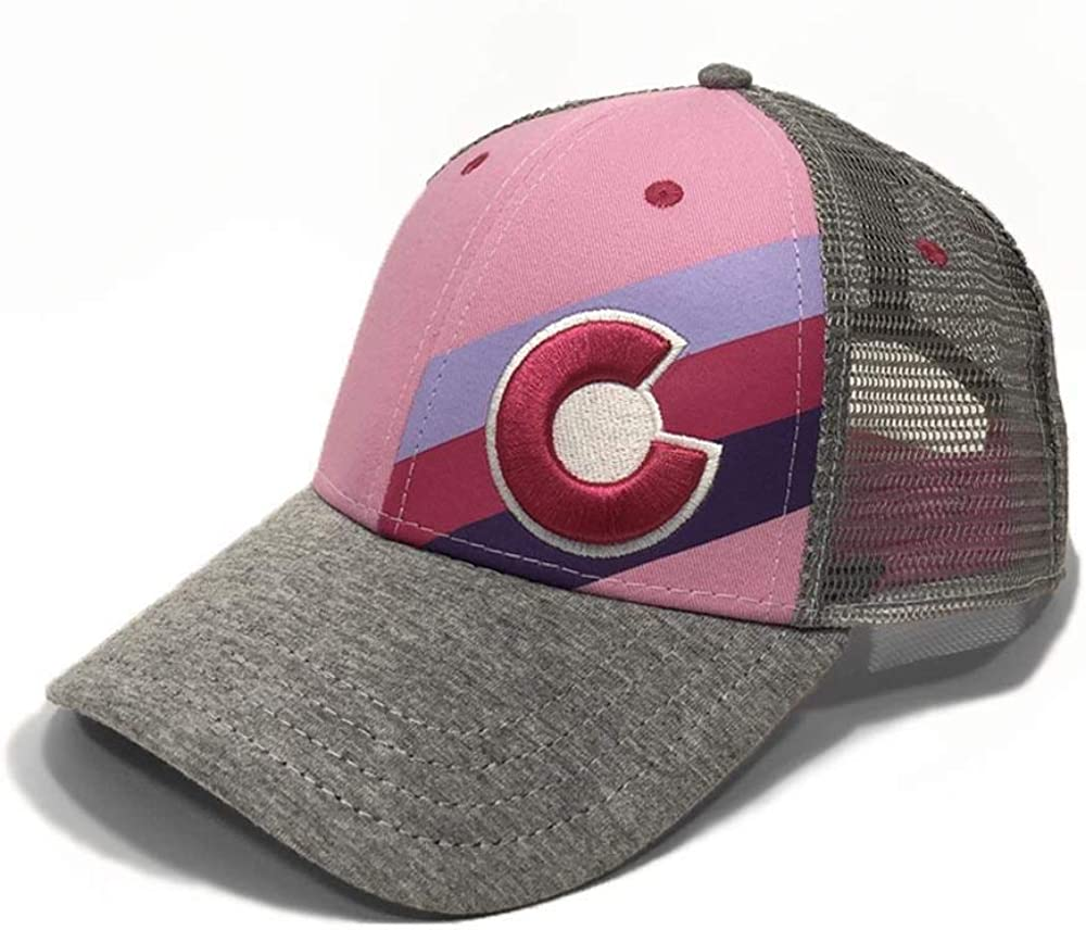 Pink Fusion Kids Incline Colorado Trucker Hat