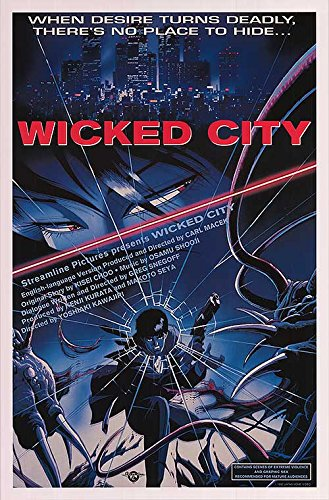 Wicked City - Authentic Original 27' x 41' Movie Poster