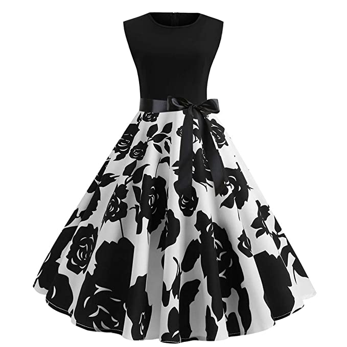 quality design f946a 71991 Siswong Retro 1950s Vintage Rockabilly Party Cocktail Swing ...