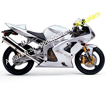 Amazon.com: ZX-6R 636 Motorcycle Fairing For Kawasaki Ninja ...