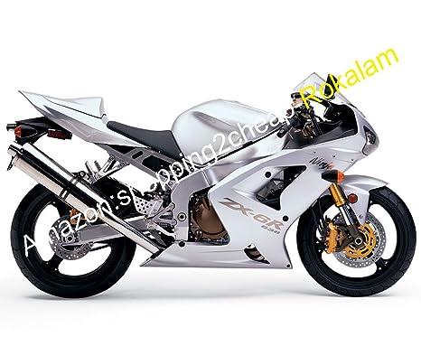 Amazon.com: ZX-6R 636 Motorcycle Fairing For Kawasaki Ninja ...