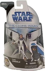Hasbro Star Wars Clone Wars Animated Action Figure No. 20 Padme Amidala