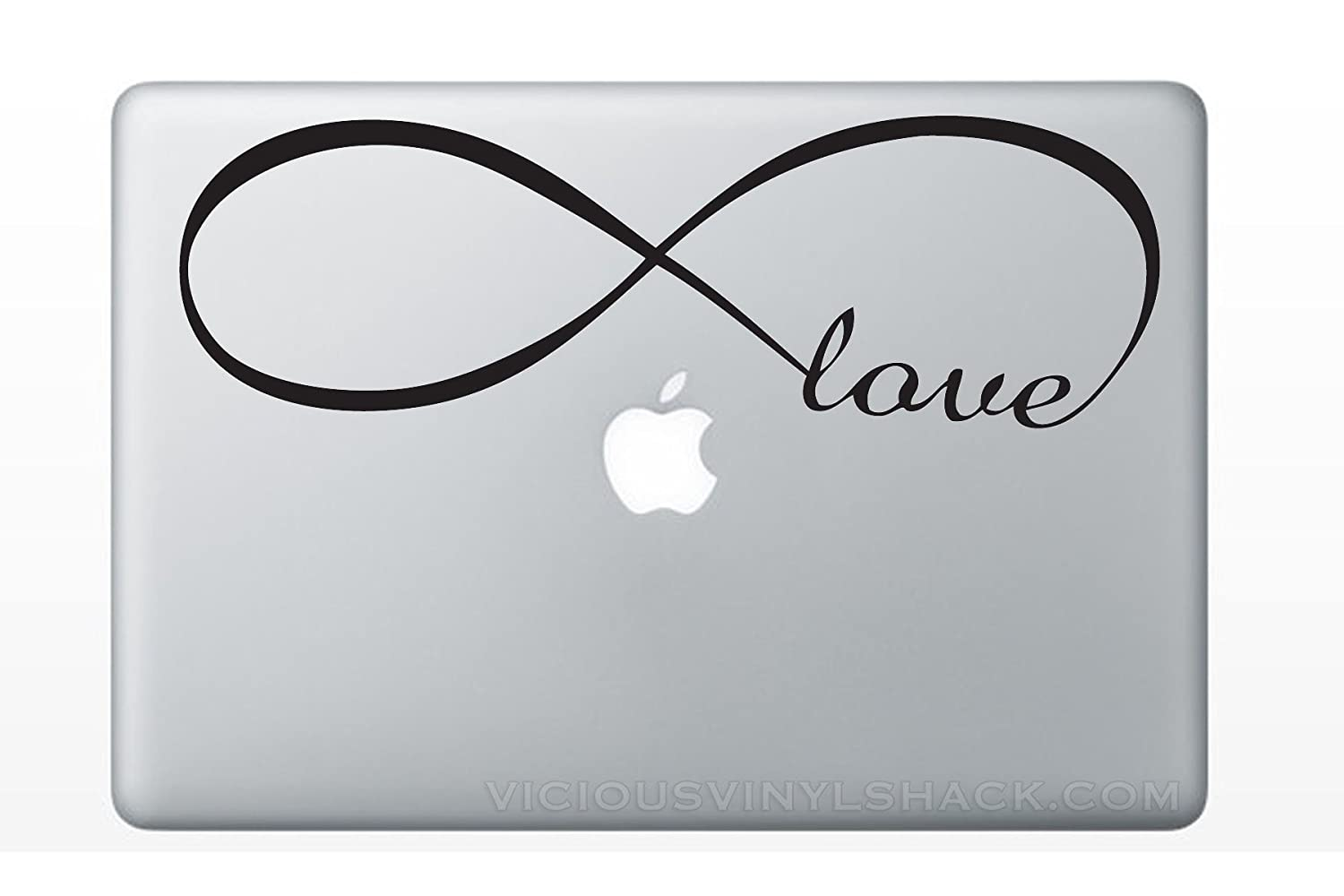 Amazon infinity symbol with the word love inside vinyl decal amazon infinity symbol with the word love inside vinyl decal stickers for macbook laptop car love forever peacock bird sparrow always relationships buycottarizona