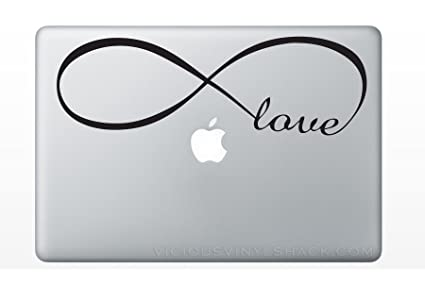 Amazon Infinity Symbol With The Word Love Inside Vinyl Decal
