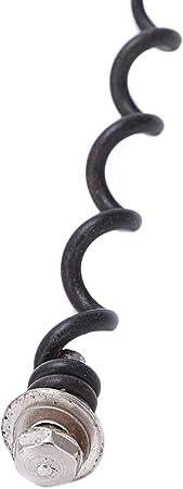 WOVELOT 2 Paquetes De Repuesto Sacacorchos En Espiral/Gusano, Cambie Facilmente Las Espirales Al Desatornillar La Pieza Antigua