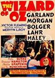 The Wizard of Oz 1939 Vintage Movie Poster Art 24x36