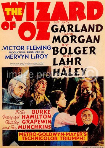 movie posters wizard of oz