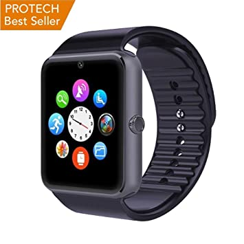 Prowatch plus-Original ITALIANO Smartwatch-Reloj táctil con función teléfono inteligente PW1 Compatible con Ios y Android iPhone 6 ...