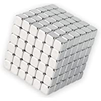 JIALEEY Magnetic Cube Relief Toys Intelligence Development and Stress Relief Magnets Toy Puzzle Building Blocks for Office School Home DIY Desktop Decoration, 216 PCS