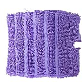 EcoMaid Accessories For Replacement Duster Pads Suitable for Shark Pocket Steam Mop S3501 (Pack of 6) (Purple)