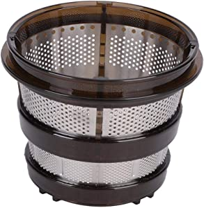 Juicer Filters, Stainless Steel Fine Mesh Juicer Filter Replacement Strainer Replacement Juicer Accessories Fit for HU9026