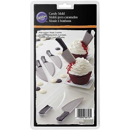 Wilton - Molde de plástico para Hacer Cuchillos de Chocolate ...