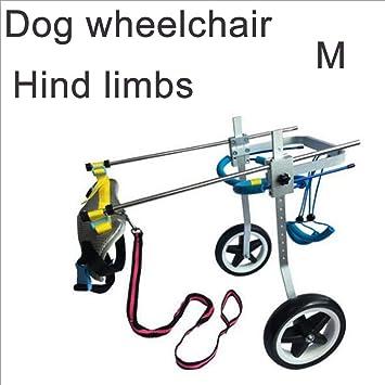 MOIMK Bicicleta para Mascotas, Silla De Ruedas Ajustable para Perros, Scooter para Perros,