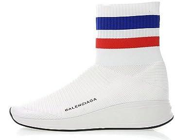 9cc224e272ac Balenciaga Speed Knit High Blue WOXH8681 Womens Trainer Sneakers ...
