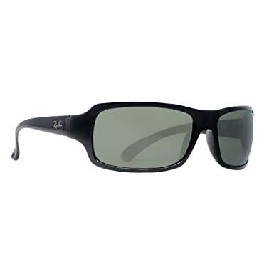 d3b6f2336a1 Ray Ban RB4075 Glossy Black Polarized Grey 601 58 61mm Sunglasses ...