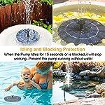 Solare-Fontana-Pompa-25W-Solare-Pompe-Laghetto-Acqua-con-4-Effetti-Mini-Pompa-da-Pannello-con-Batteria-di-memorizzazione-di-energia-per-Piccolo-Stagno-Giardino-Piscina