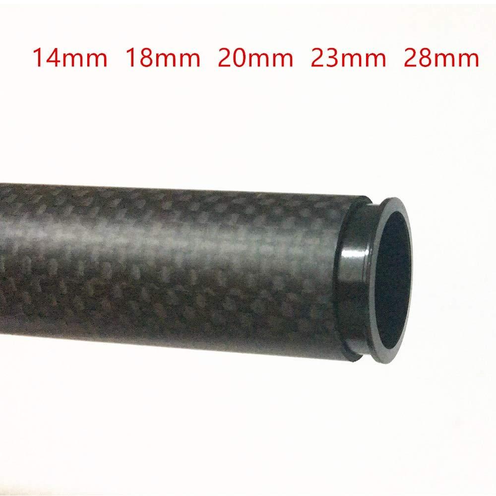 D28mm L30mm black Laliva 4 pcs. Aluminum 25 mm 30 mm 22 mm 20 mm Carbon Fiber Tube Aeromodelismo DIY Octcopter Drone Quadcopter Frame Kit Part - (color  D28mm L30mm Black)