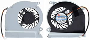 Todiys CPU Cooling Fan for MSI GE70 2OD 2OE 2PC 2PE 2QD 2QF MS-1756 MS-1757 MS-1759 Series 0NC-498US 0ND-033US 2OC-037AU 2OD-038BE 2OE-028UK 2PC-032XFR 2PE-216NE 2QD-697AU 2QE-872TH PAAD06015SL-285